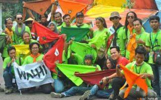 Pernyataan sikap Organisasi Pecinta Alam Anggota WALHI menolak aksi penggusuran petani di seluruh Tanah Tumpah Darah Indonesia