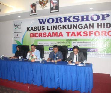 Foto 1 Workshop Kasus Lingkungan Hidup Bersama Task Force _30 - 31 Jan 2017