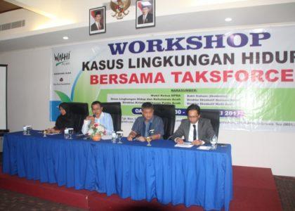 """""""Walhi Aceh Minta Pemerintah Aceh Memperpanjang SK Task Force"""""""
