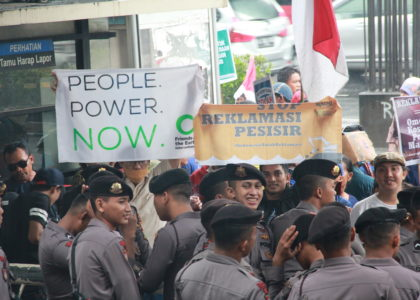Mengatasi Masalah dengan Masalah Baru : Menguruk Pantai (Reklamasi) Bukan Solusi Berkelanjutan untuk Ekologi Pesisir dan Laut di Indonesia