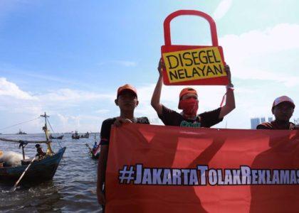Koalisi Selamatkan Teluk Jakarta Konsisten Tolak Reklamasi