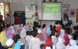The Festive of Environment Day Celebration with students of Semut-Semut The Natural School (Elementary School)