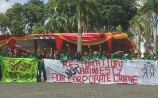 WALHI Rejects Green Washing with the faced of Restoration