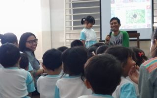 Sharing Information About Environment With Noah School's Students