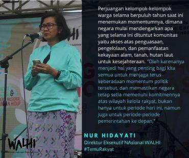 Pidato Direktur Eksekutif Nasional