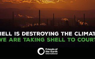 WALHI mendukung gugatan hukum Friends of the Earth Belanda kepada Shell karena kegagalannya bertindak atas perubahan iklim