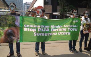 Menjelang Putusan WALHI Serukan International Action Day of Protest Against Bank of China