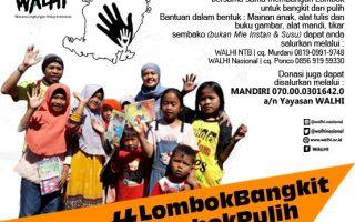 Lombok Bangkit Lombok Pulih!
