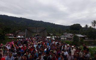Ratusan Masyarakat Beutong Ateuh Banggalang kembali lakukan aksi Penolakan Tambang PT. EMM