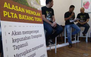 WALHI Sumatera Utara menilai mega-proyek PLTA Batang Toru merugikan negara, masyarakat dan lingkungan hidup