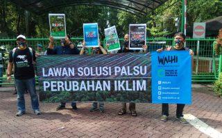 """""""Target Dua Derajat Mengancam Rakyat dengan Bencana Perubahan Iklim""""  Hari Pengendalian Perubahan Iklim 2018"""