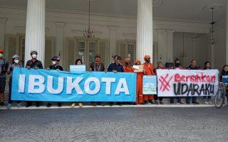 Masyarakat Ajukan Notifikasi Gugatan Warga Negara Terkait Buruknya Udara Jakarta