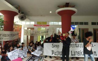 Aksi Warga Pedukuhan Sepat Mempertahankan Kelestarian Waduk Sepat Berbuah Krimilalisasi