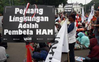Kriminalisasi Pejuang Lingkungan Hidup Terus Berlanjut di Rezim Nawa Cita