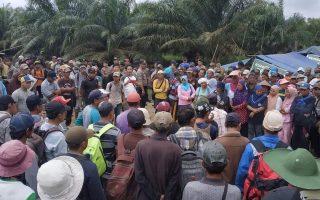 Seruan Aksi dan Permohonan Dukungan Aksi Di Desa Sogo Kecamatan Kumpeh Kabupaten Muaro Jambi